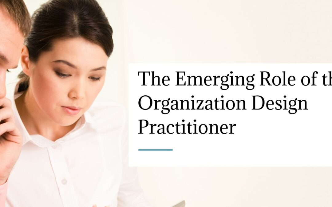 The Emerging Role of the Organization Design Practitioner
